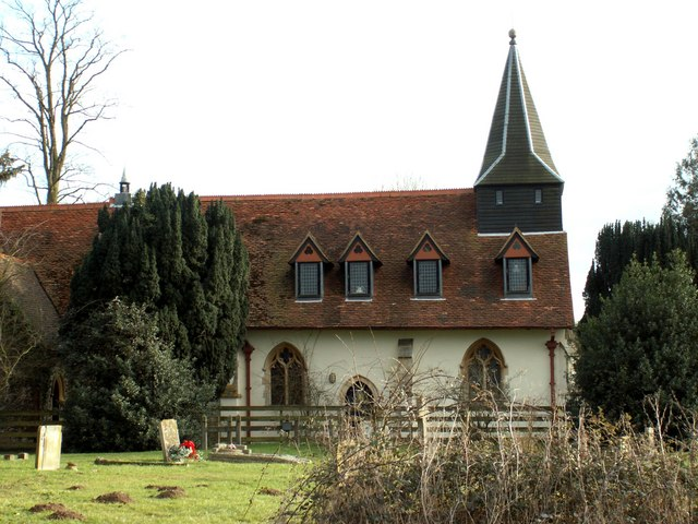 St. Mary's church, Pattiswick, Essex