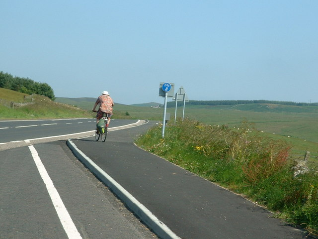 A696 at Monkridge near Elsdon