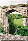 SJ2837 : Chirk Railway Viaduct by Pierre Terre