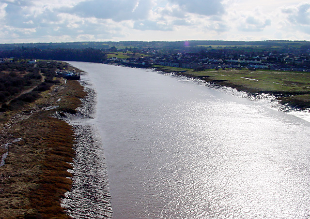 River Avon from the Avonmouth Bridge