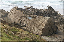 SS2006 : Folded rocks, Compass Point by Pierre Terre