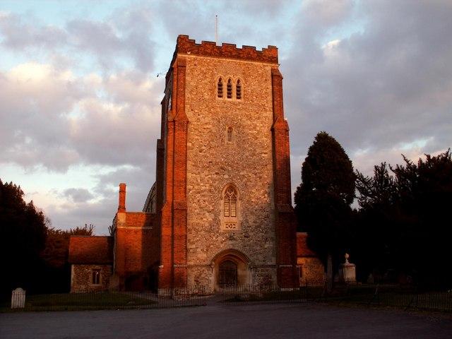All Saints church, Writtle, Essex