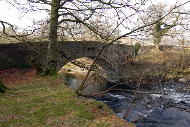 Middleton Bridge over the Rawthey