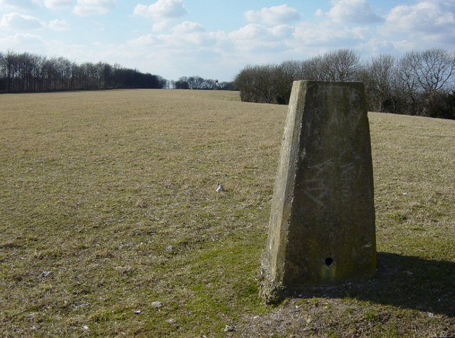 Heyshott Down Triangulation pillar