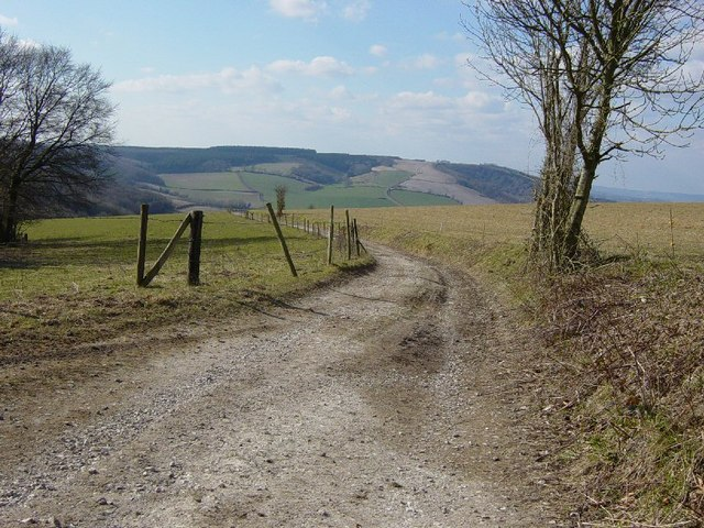 The South Downs Way, Manorfarm Down