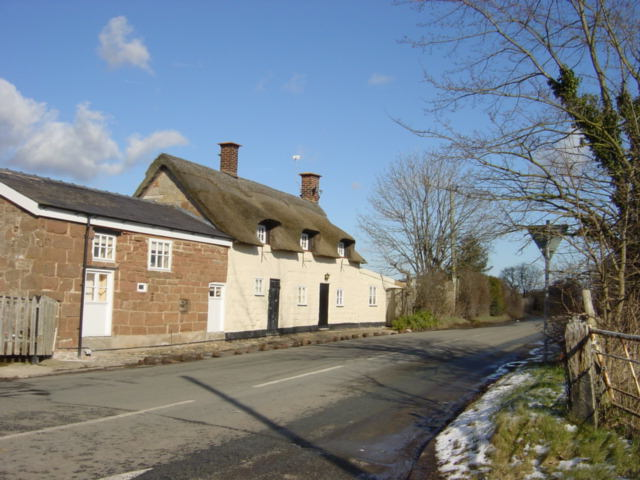 Thatched Cottage at Four Lanes End