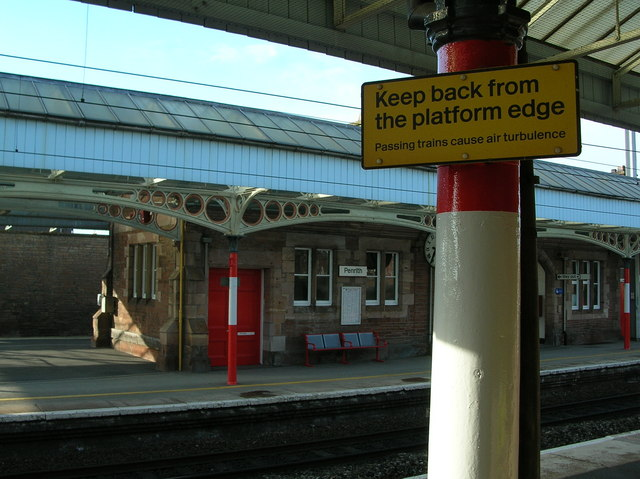 Penrith Railway Station warning (the boring, real version)
