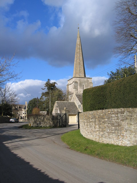 All Saints Church Kemble spire