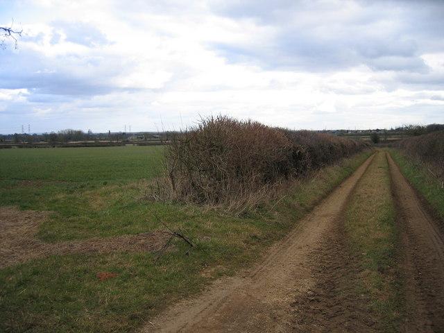Farm track near Kemble