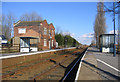 TF2142 : Swineshead Railway Station, Swineshead Bridge, Lincs by Rodney Burton