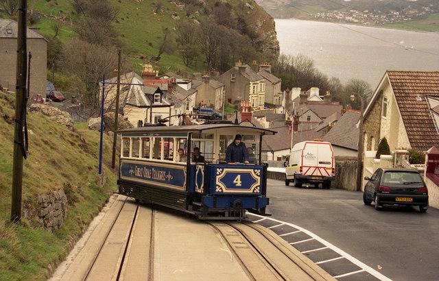 Great Orme Tramway, Llandudno - lower section