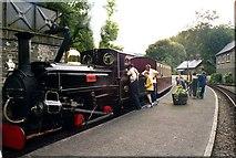 SH6441 : Festiniog Railway, Tan-y-Bwlch Station by Pierre Terre