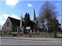 TQ6757 : Church of St. Mary, West Malling by Hywel Williams