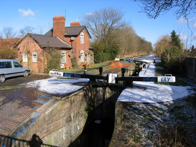 Rushall Canal from Five Ways Bridge