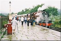 SD8022 : Steam locomotive at Rawtenstall, Lancashire by Dr Neil Clifton