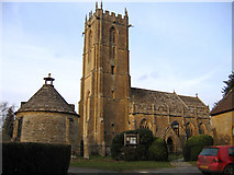 ST4715 : Parish church, Norton-sub-Hamdon, Somerset by Rodney Burton