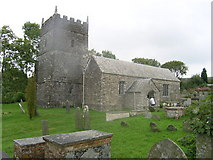 SS6744 : Parracombe Old church of St Petrock by ChurchCrawler