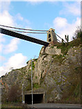 ST5673 : Clifton Suspension Bridge from the Portway by Linda Bailey