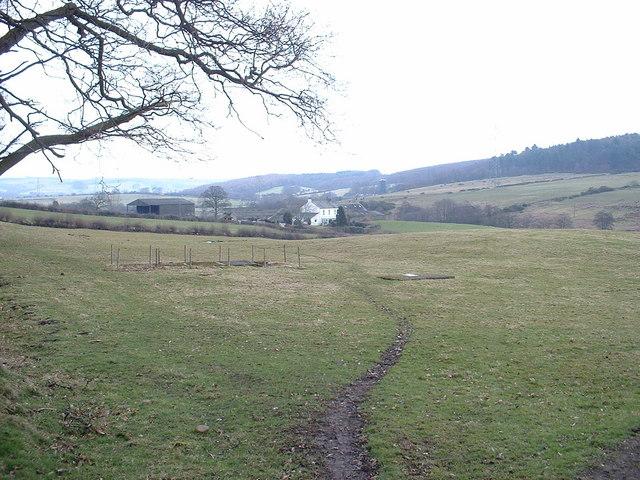 Looking towards Moorside Farm