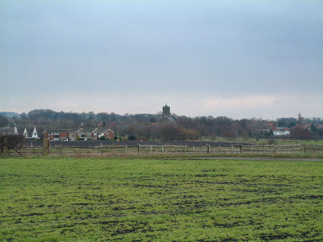 Rainford Village in early spring