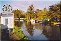 SU9946 : The River Wey, Shalford. by Colin Smith
