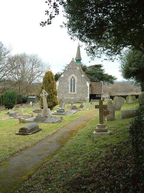 St. John the Evangelist church & churchyard