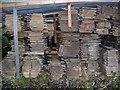 NY8261 : Timber Yard at Langley by Richard Young