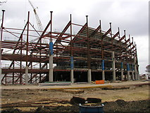 TA0728 : The KC Stadium under construction by Andy Beecroft