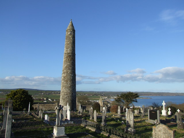 Round Tower, Ardmore, County Waterford.