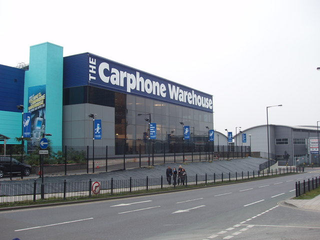 Phone supplier headquarters, North Acton
