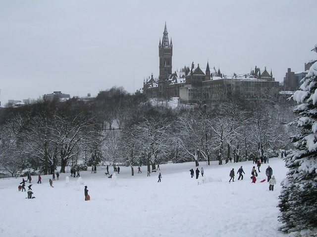 Winter Merriment in Kelvingrove Park
