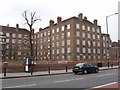 TQ3486 : Flats on Upper Clapton Road, Hackney by David Hawgood