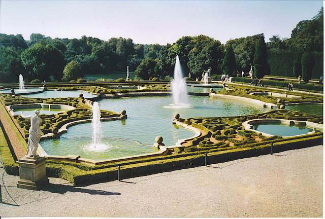 Formal Garden, Blenheim Palace.