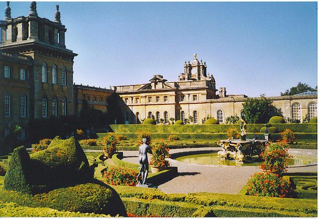 Blenheim Palace, Italian Garden.