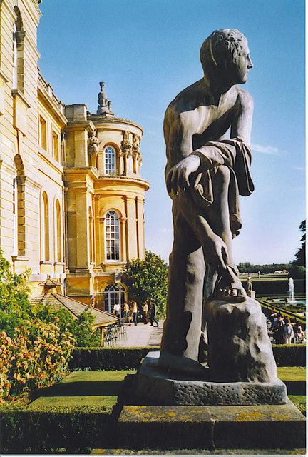 Classical Statue, Blenheim Palace.