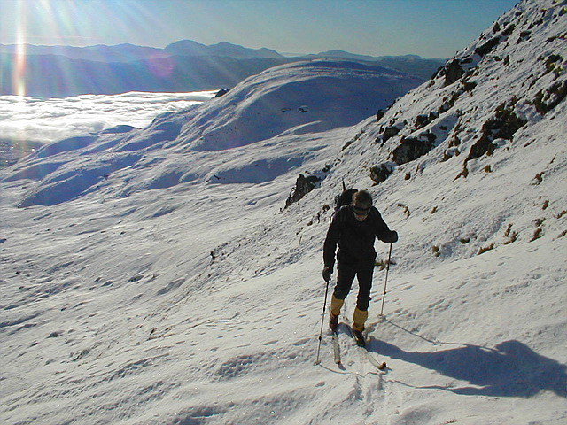 Meall Liath behind - inversion