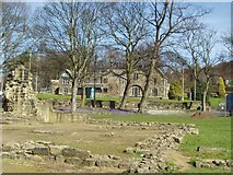 SE2536 : Remains of the Guesthouse, Kirkstall Abbey by Rich Tea