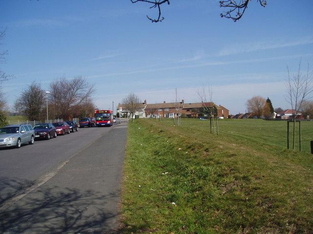 Open space opposite Edgebury Primary School, New Eltham, Kent