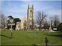 TL2702 : Northaw: St Thomas a Becket Church by Nigel Cox