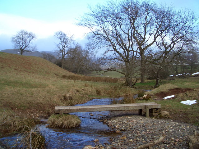 Footbridge over Dale Beck