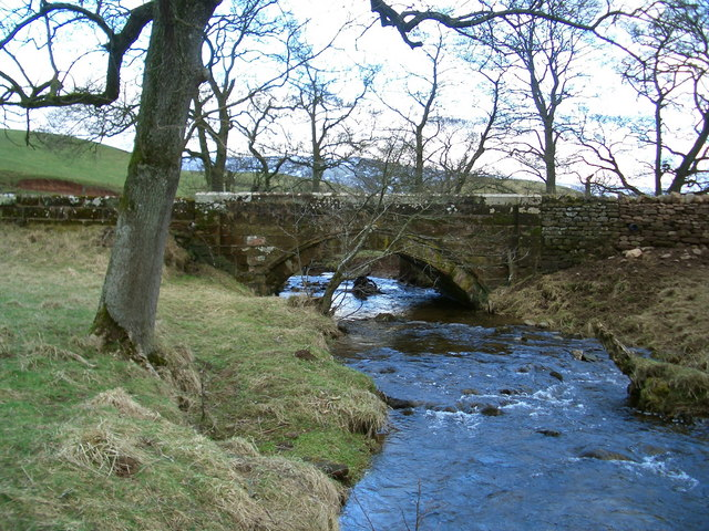 Bridge on the Melmerby to Ousby road crossing Sunnygill Beck