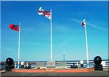 TA2711 : Royal Naval Patrol Service Veterans War Memorial by John Readman