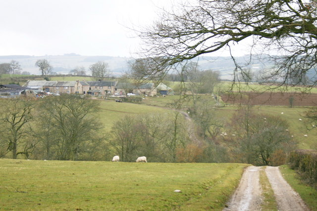 Lane to Crabstack Farm