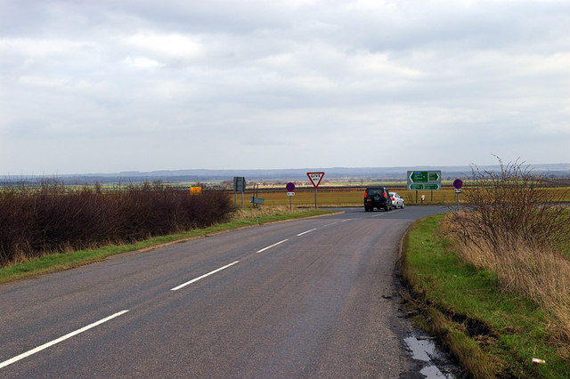 B1205 junction with the A15