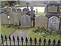 NY3307 : William Wordsworth's Grave by Gary Rogers