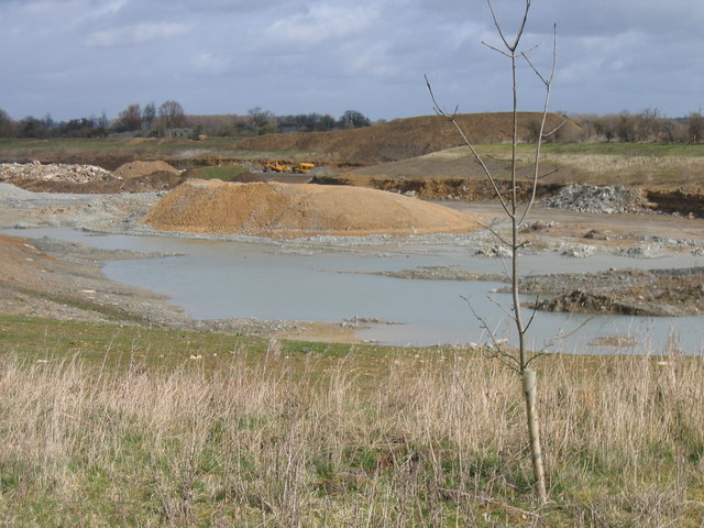 Shorncote Quarry from Keynes Country Park