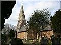 SX0553 : St Mary's Church, Biscovey by Tony Atkin