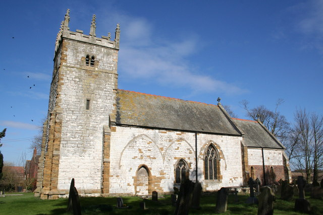 St.John's church, Croxton, Lincs.