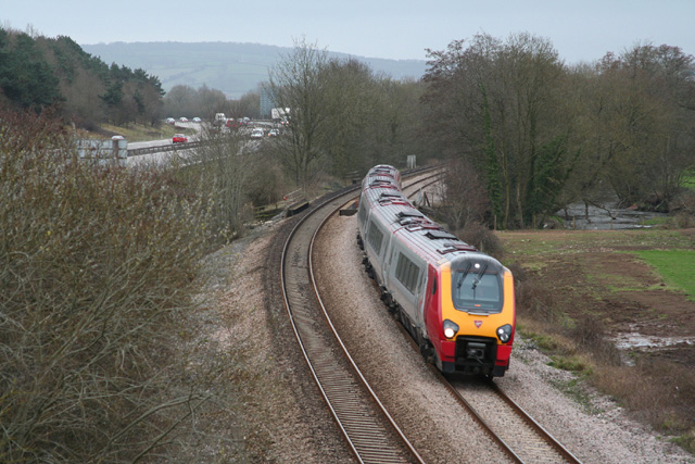 Cullompton: train from Exeter
