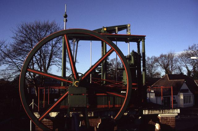 Beam engine, Loughborough University